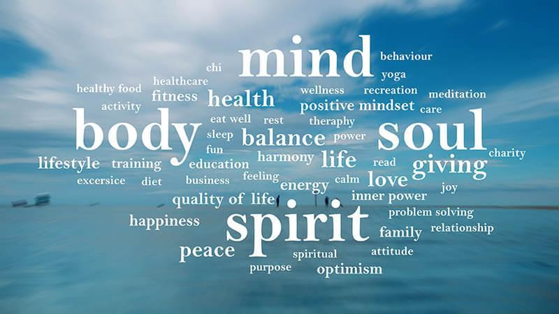 body, mind, spirit and soul
